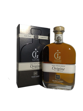 Immagine di Grappa Giare Origine Full Proof Affinata Amarone 70cl