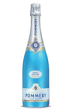Picture of Champagne Pommery royal blue sky