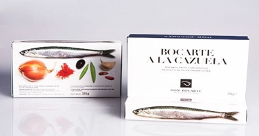 Picture of Anchovies of Cantabrico sea in casserole 255gr Don Bocarte.