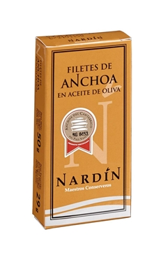 Picture of Filetti Di Acciughe Nardin del Mar Cantabrico 50 gr