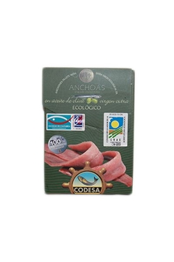 Picture of Acciughe del mar cantabrico ecologica 55g