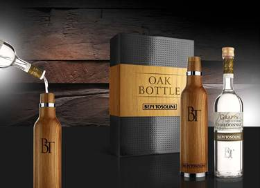 Picture of GRAPPA OAK BOTTLE BEPI TOSOLINI