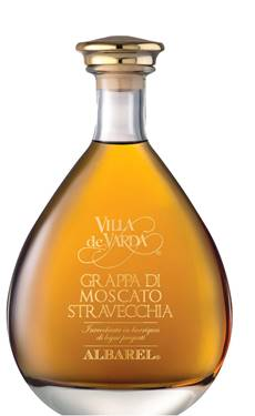 Picture of GRAPPA MOSCATO STRAVECCHIA - BARRICATA ALBAREL  70 cl.