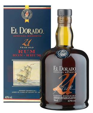 Picture of RUM EL DORADO 21 ANNI