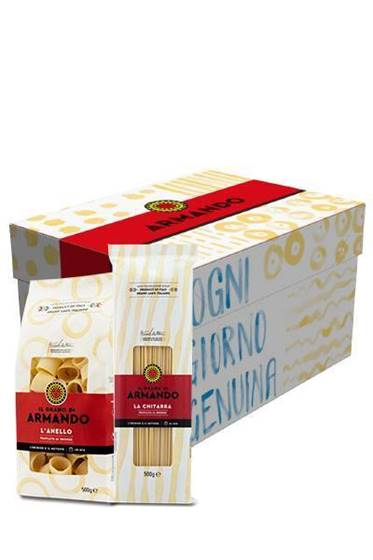 "Picture of GIFT BOX Pasta Armando ""IL GRANO DI ARMANDO mini"" – 3,5 KG"
