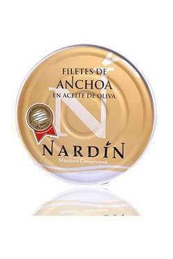 Picture of FILETTI DI Acciughe Nardin in latta Nardin GR 550