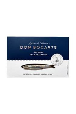 Picture of Anchovies of Cantabrico Don Bocarte in olive oil, low in salt 120gr.