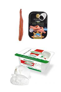 Picture of burrata e acciughe del mar Cantabrico SERIE LIMITATA 55G