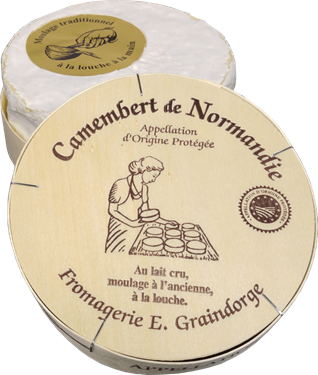 Picture of Camembert de Normandie AOP -Graindorge-