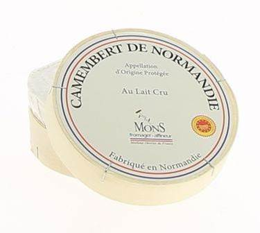 Picture of CAMEMBERT CRU NORMANDIE DOP 250 GR