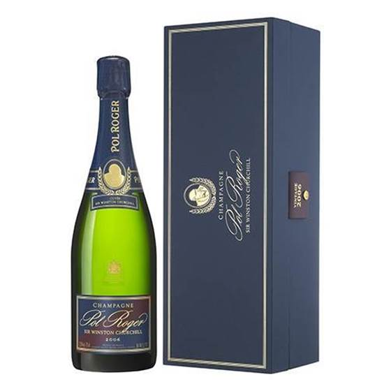 """Picture of Champagne Brut """"Sir Winston Churchill 2008 Magnum  Pol Roger (Astuccio)"""